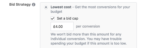 What is the Best Facebook Ad Bidding Strategy? Set Bid Cap 6