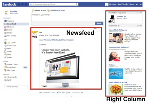 The Best Facebook Ad Placements for Sales facebook ad placement 3
