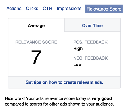 What is the Best Facebook Ad Bidding Strategy? facebook ad relevance score 3