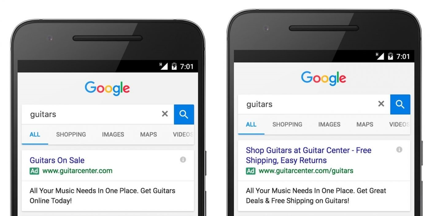 Optimizing your Google PPC Ad Copy for Higher CTRs expanded text ads 4