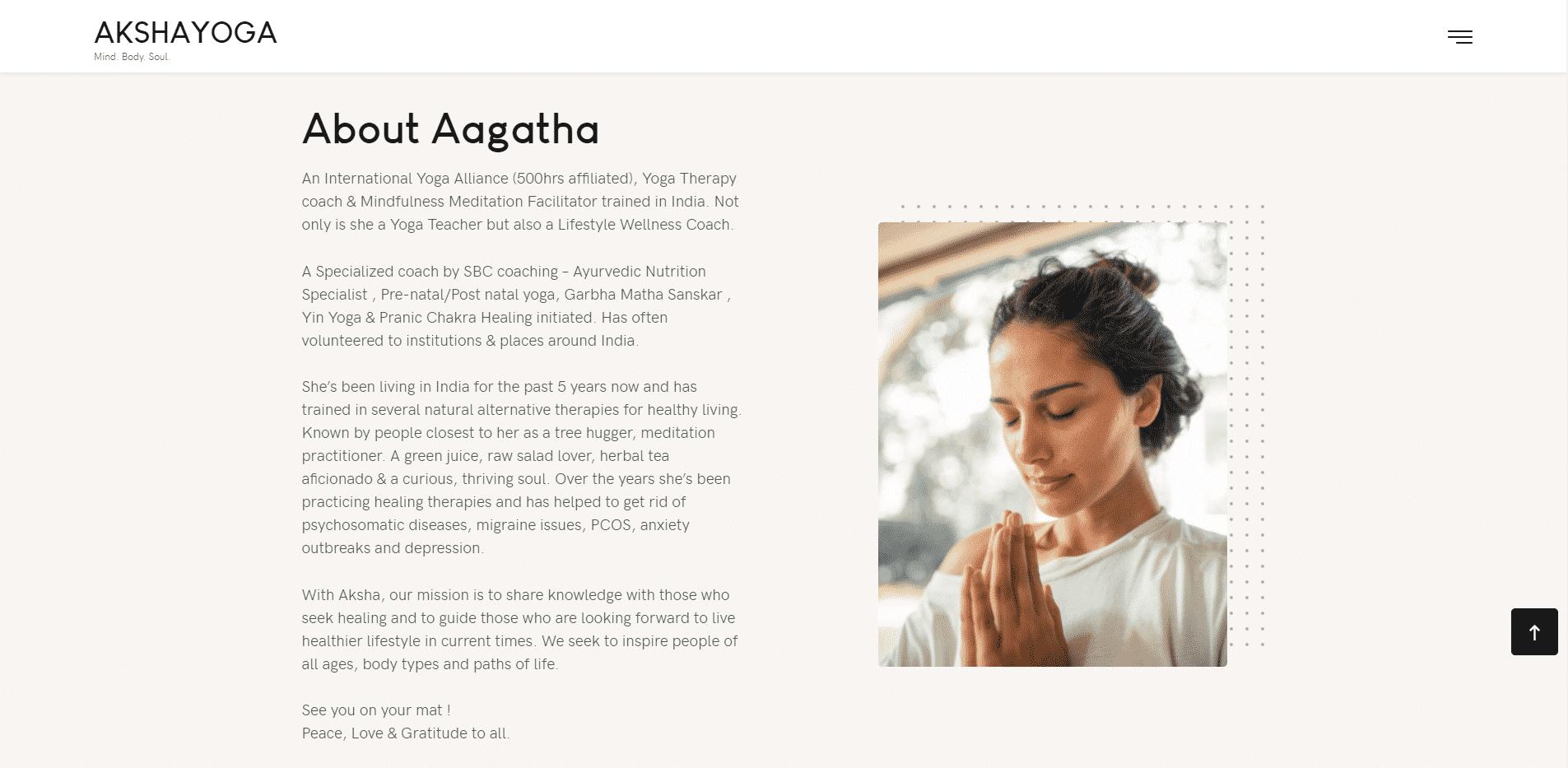 Yoga Web Design & Development image 39 3