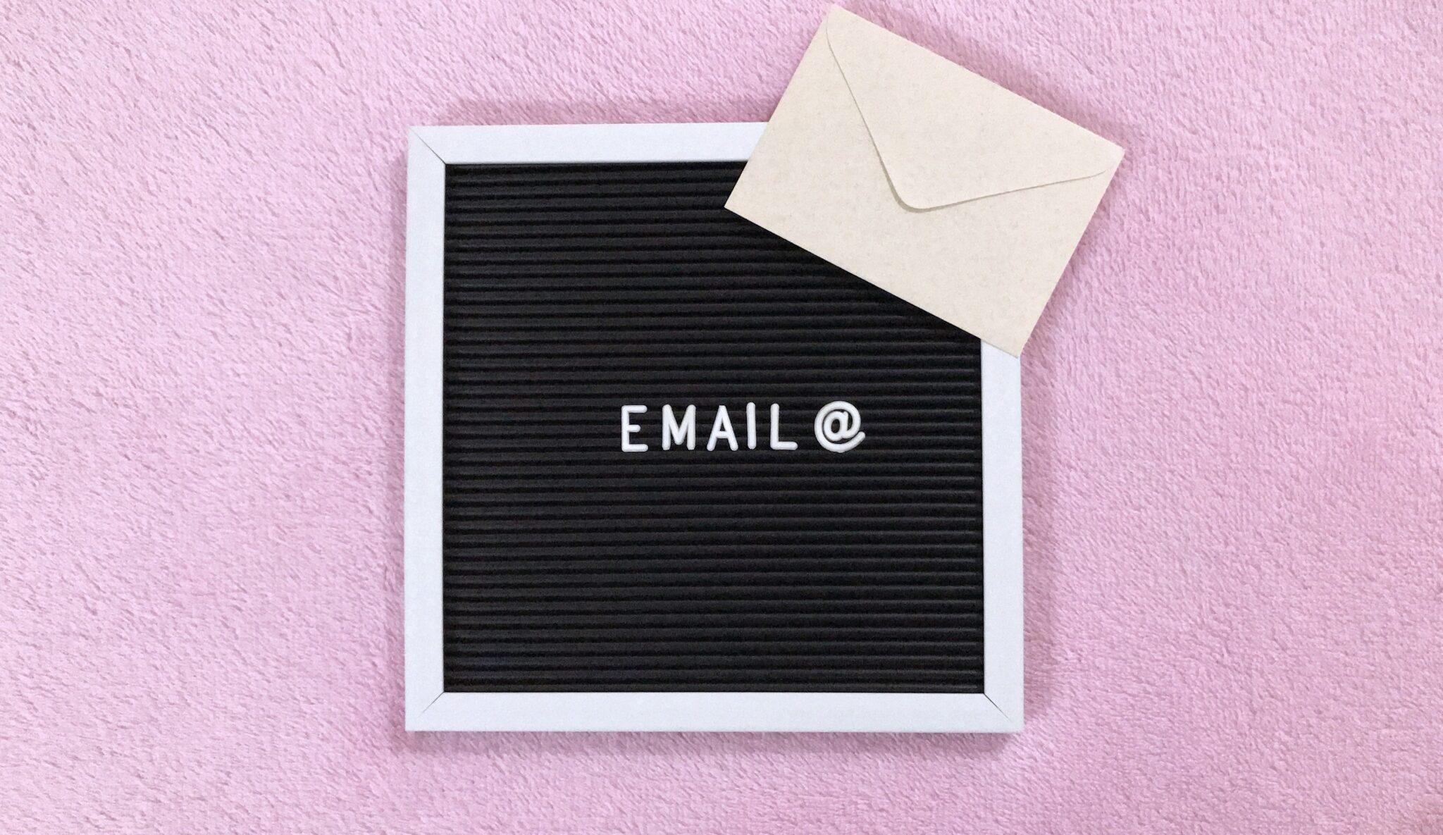 OrangEdge Marketing Home email sign board on pink background PBFJ965 scaled 8