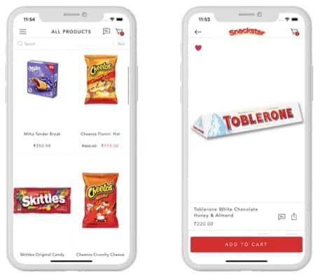 App Marketing : 10 ROAS with Scale Snackstar app marketing orangedge case study 1